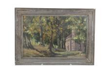 FERGUS O'RYAN RHA (1910-1989)AutumnOil on canvas, 28 x 43cmSigned