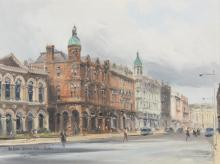 COLIN GIBSON (B.1948)The Ulster Reform Club, BelfastOil on board, 30 x 40cmSigned and inscribedExhibited: UTV Collection, City Hall, Limerick, September 1994