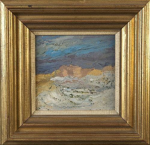 Margaret Clarke RHA (1888-1961) Aran Landscape Oil