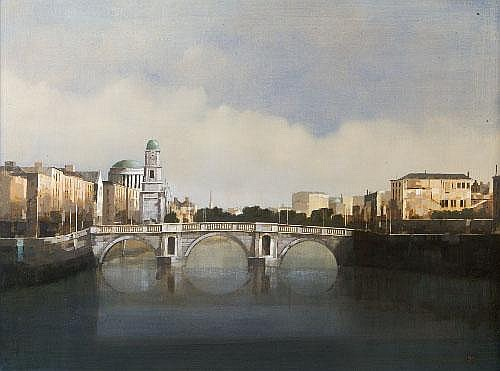 Martin Mooney (b.1960) Looking Towards St. Pauls
