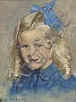 George Collie RHA (1904-1975) Portrait Of A Little, George Collie, Click for value