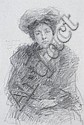John Butler Yeats RHA (1839-1922) Susan Mitchell, John Butler Yeats, Click for value