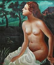 Cecil fFrench Salkeld ARHA (1904-1969) Leda
