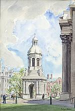 E. Lyn Hope (Fl. 1938-1959) Campanile in Trinity