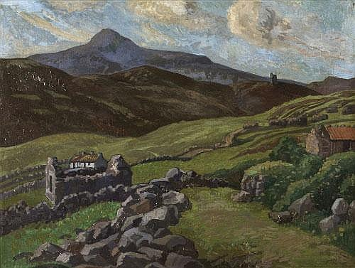 DOROTHY BLACKHAM (1896-1975) < br> Croaghan,