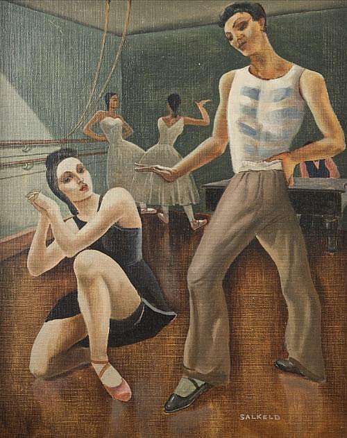CECIL FFRENCH SALKELD ARHA (1904-1969) < br>