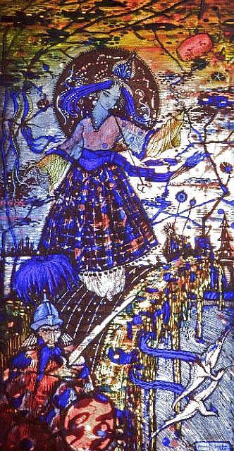HARRY CLARKE RHA (1889-1931) < br> Bluebeard's