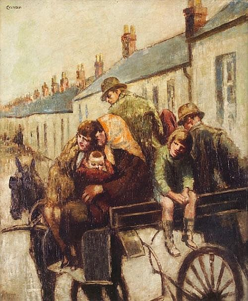 WILLIAM CONOR RUA RHA (1884-1968) < br> The