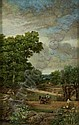 Jack Cudworth (b.1930) Horse & Cart in a Field Oil, Jack Cudworth, Click for value