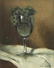 James English RHA (b.1946) Parsley in a Glass Oil