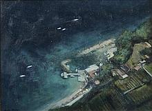 James English RHA (b.1946) Bagno Tibeno, Capri Oil