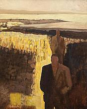 Arthur Armstrong RHA (1924-1996) Figures in a