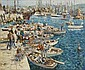 James Le Jeune RHA (1910-1983) Douarnenez Harbour, James Le Jeune, Click for value