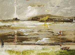 Patrick Hickey HRHA (1927-1998) View from Clontarf