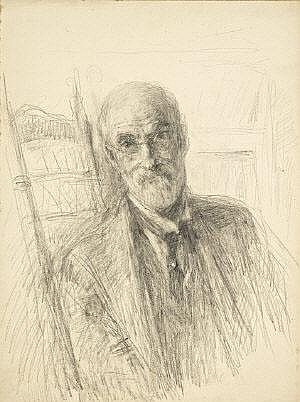 John Butler Yeats (1839-1922) Self Portrait,