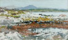 Maurice MacGonigal PRHA (1900-1979) - Toombeola Near Roundstone