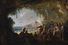 William Sadler II (1782-1839)Military GroupsA pair, oil on panel, 22 x 32cm (8¾ x 12½'') and 22 x 32.5cm (8¾ x 12¾'')