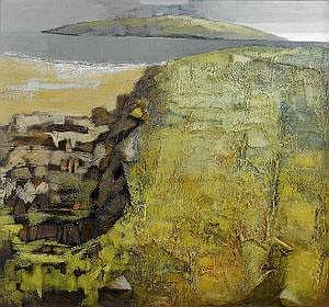 Arthur Armstrong RHA (1924-1996) Field and Rocks