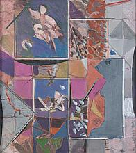 GENE LAMBERT (b.1952)Abstract Studies A pair, each 29.5 x 27cm Signed and dated (19)'76