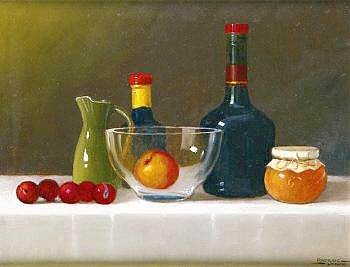Padraig Lynch (b.1936) Still Life Oil on canvas,