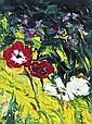 Michael Flaherty (b.1950) Poppies Oil on board, 40