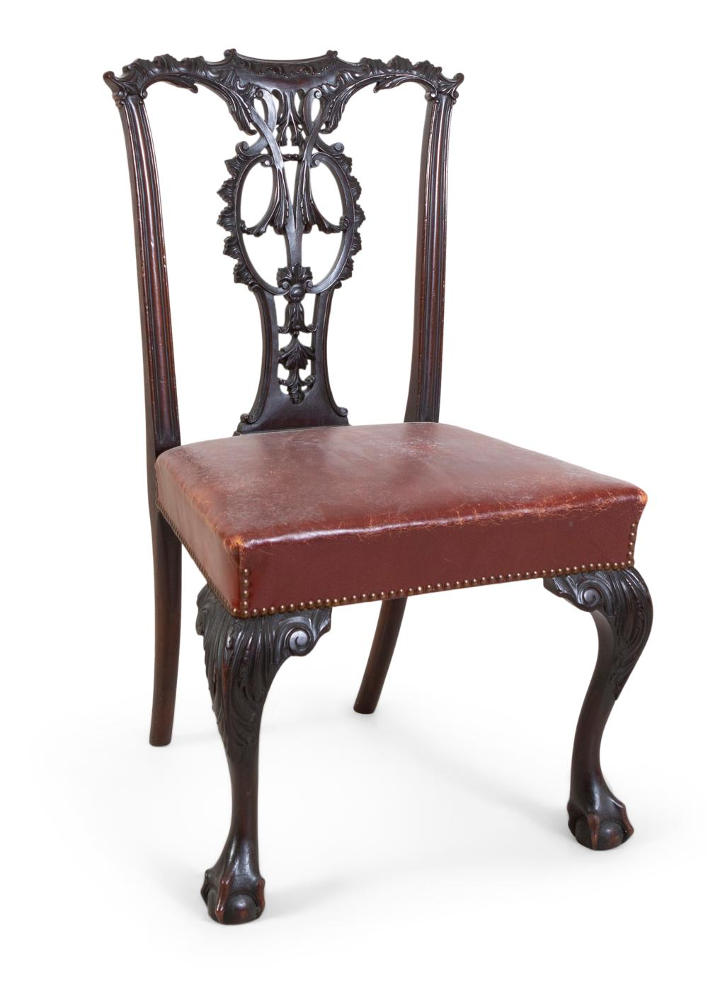 Strange A Georgian Revival Dining Chair Possibly By Butler Of Caraccident5 Cool Chair Designs And Ideas Caraccident5Info
