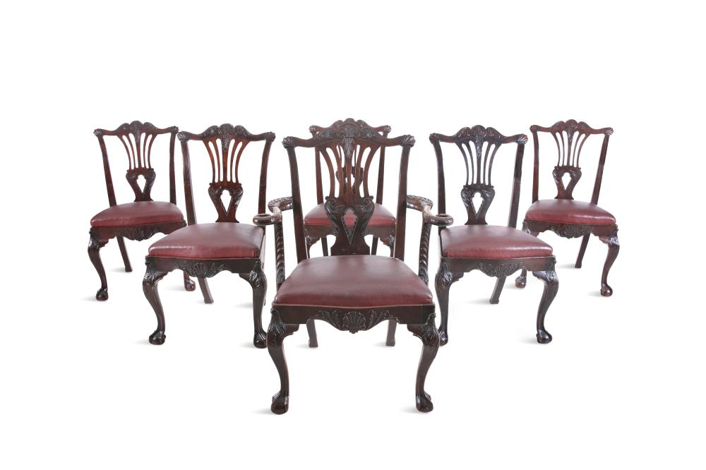 Cool A Set Of Twelve 19Th Century Mahogany Dining Chairs By Caraccident5 Cool Chair Designs And Ideas Caraccident5Info