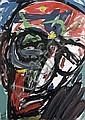 Michael Kane (b.1935) Head VII - Homage to Patrick