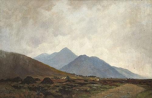 John Crampton Walker ARHA (1890-1942) Mountain