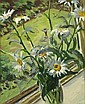 William John Leech RHA ROI (1881-1968) Marguerites, William John Leech, Click for value
