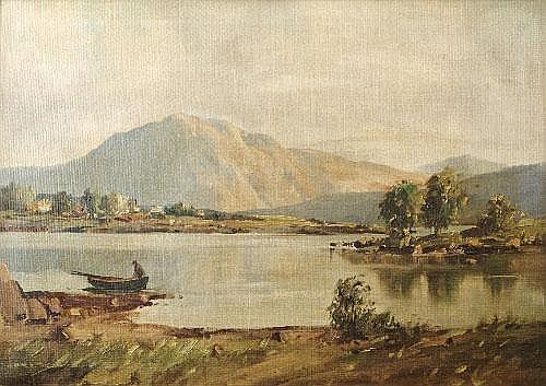 Arthur H Twells ARUA (b. 1921) Still Water,