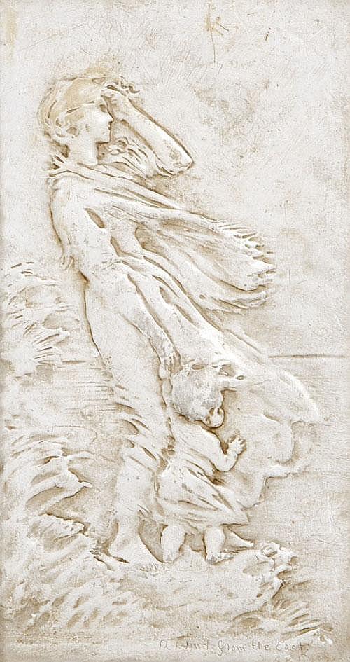 Rosamund Praeger HRHA RUA (1867 - 1954) A Wind