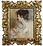 Henry Jones Thaddeus (1859 - 1929) A Study Oil and, Henry Jones Thaddeus, Click for value
