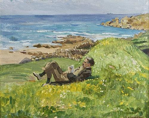 Estella Solomons HRHA (1883-1968) Seamus Reading