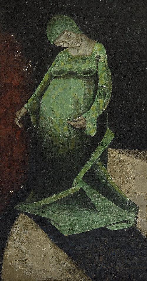 PATRICK PYE RHA (b.1929) The Virgin Who Walks Down