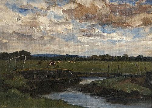 JOHN CRAMPTON WALKER HRHA (1890-1942) Cattle in a