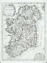 AnonTkoningryk van Yrlandt ...Published by Ribbius, Utrecht (1683). 205 x 268 .  Abl 16(i).Le Royanne d'Irlande  A second state of the above from Description de Tout l'Union 1700.  Published by de Sauzet.  205 x 268.  Abl 16(ii). Pieter Meijer