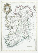Gerard MercatorFour maps (ex. 5 lacking map of Ireland) to include North and South Ireland, Ultonia and Udrone.  French edition, 1639.  All maps in the second state. (4)