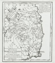 ROBERT DU VAUGONDY (1723-1786)A set of the Four Provinces from M. l'Abbe MacGeoghegan's Histoire de l'Irlande ... published in Paris, 1758.  Various sizes.  Abl 88.