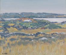 Maurice MacGonigal PRHA (1900-1979)Connemara Homestead, FaulOil on board, 51 x 61cmSignedProvenance: With Dawson Gallery, Dublin
