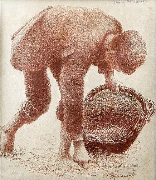 Joseph Malachy Kavanagh RHA (1856-1918)