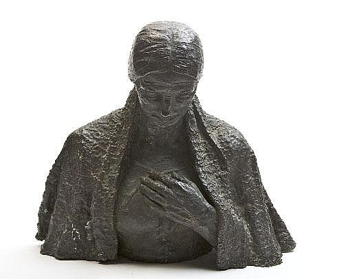 Jerome Connor (1874-1943) The Irish Mother Bronze,