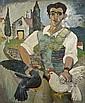 Gerard Dillon (1916-1971) Italian with Fowl (1948), Gerard Dillon, Click for value