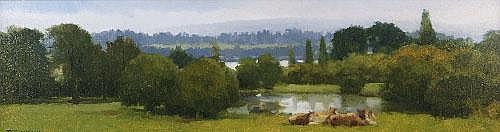 Trevor Geoghegan (b.1946) Summer Rain, Russborough