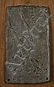 HILARY HERON (1923-1977) Icarus I Cast lead panel, Hilary Heron, Click for value