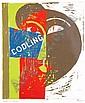 Michael Kane (b.1935) Harbour Queen Lino print,