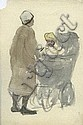Michael Healy (1873-1941) Dubliners Watercolour, a, Michael Healy, Click for value