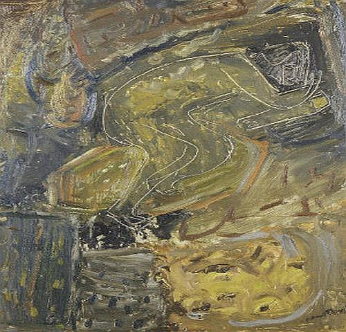 Nano Reid (1905-1981) Spell of the Wood Oil on