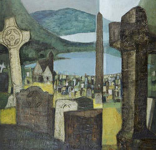 Arthur Armstrong RHA (1924-1996) Glendalough Oil