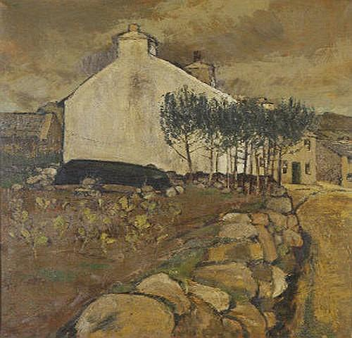 Derek Hill HRHA (1916-2000) The King's House, Tory